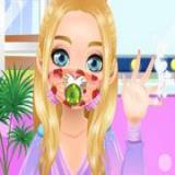 Blonde Ashley Mask Design