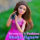 Brunette's Fashion Shots Jigsaw