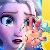 Elsa Hand Doctor - Fun Games for Girls Online