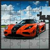Luxury Swedish Cars Jigsaw