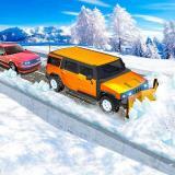 Snow Plow Jeep Simulator